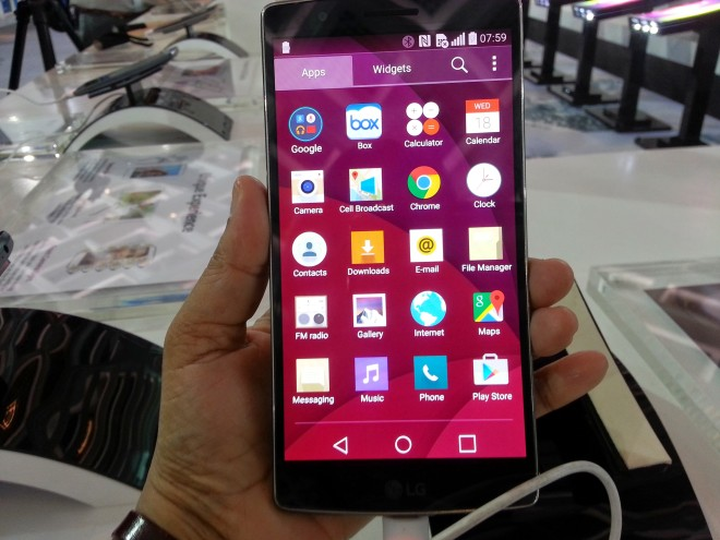 LG G Flex 2 features and specifications
