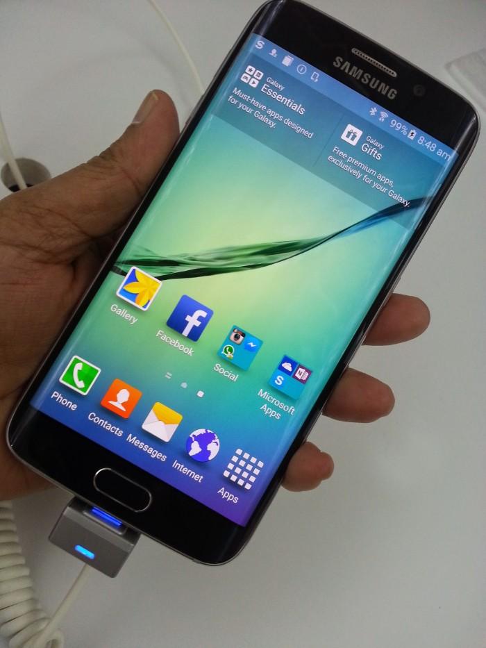 features of galaxy S6, features of Galaxy S6 Edge