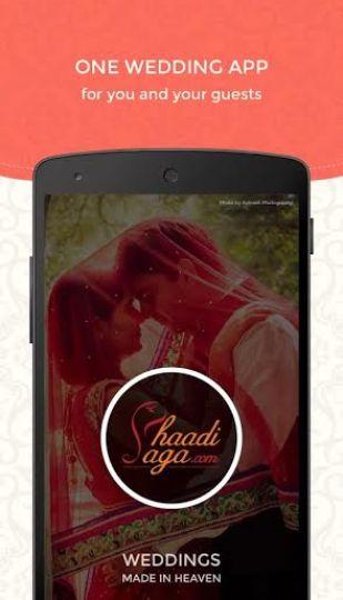 ShaadiSaga wedding app